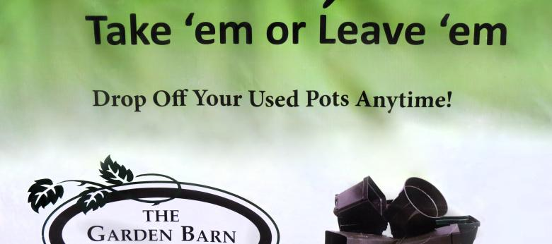 Garden Barn Pot Recycling Bin