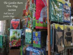 Garden Barn Flag Section