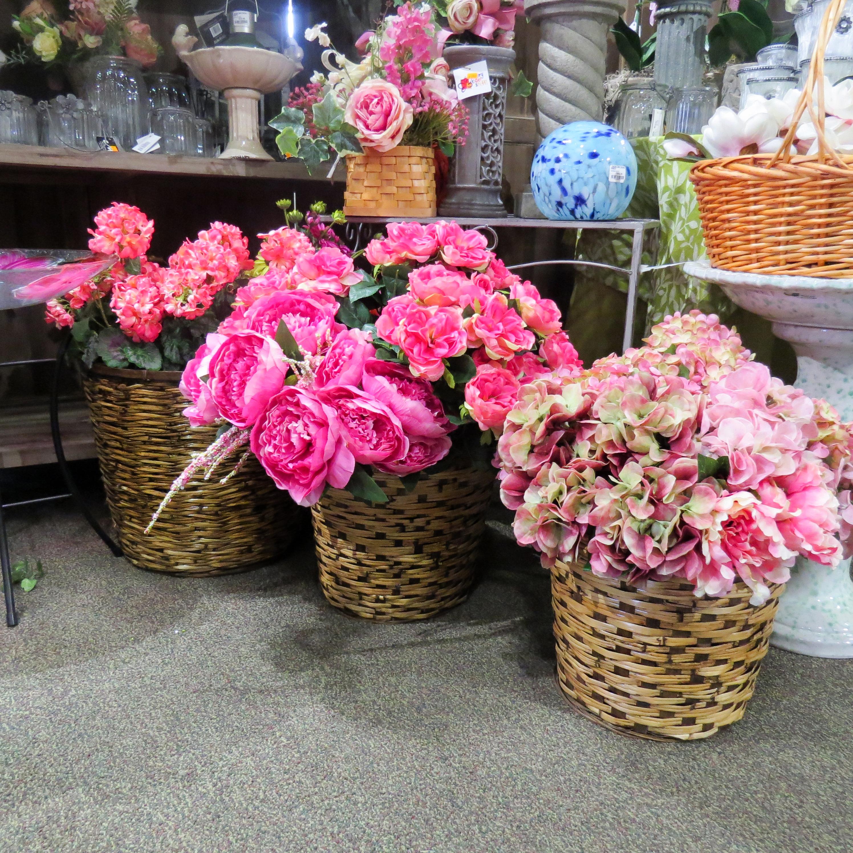 Silk Flowers Garden Barn